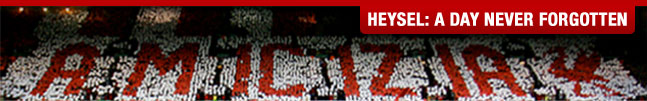 Heysel Banner