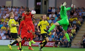 EFL Cup: Burton 0-5 Liverpool