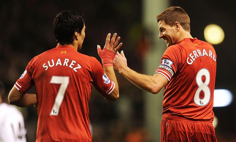 Reuni Steven Gerrard dan Luis Suarez yang emosional