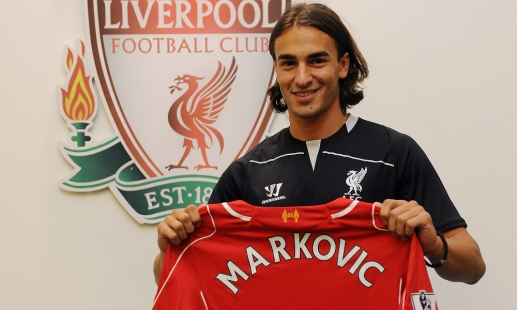 Markovic to wear No.50 at Liverpool