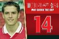 100PWSTK No.14 - Michael Owen