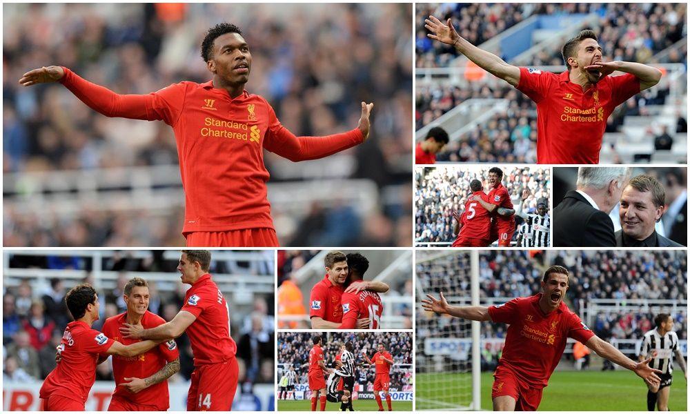 Rodgers: Akan bagus jika kita bisa kembali menang enam gol atas Newcastle