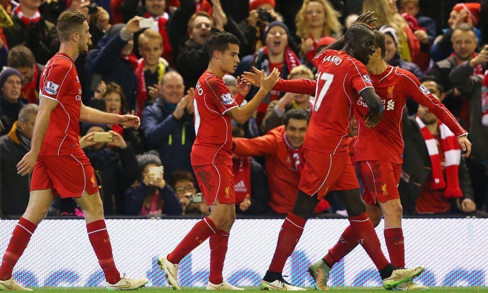 Liverpool tim Liga Primer yang meraup poin terbanyak sepanjang 2015