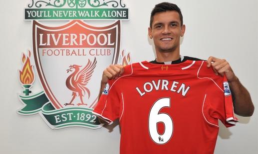 Dejan Lovren squad number confirmed
