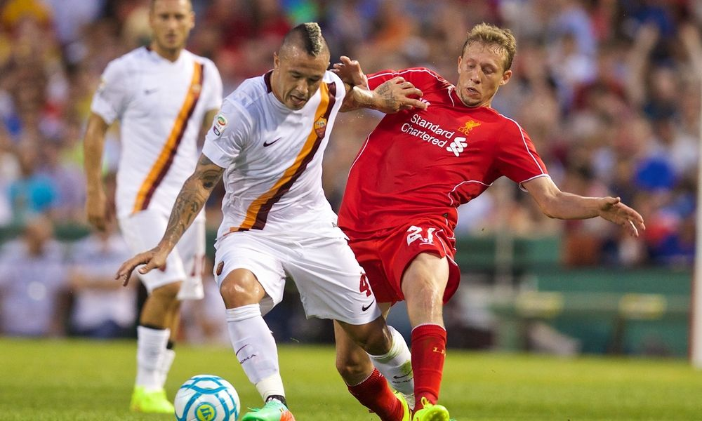 GALERI FOTO: Aksi dari pertandingan LFC vs. AS Roma