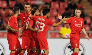 Photos: Reds defeat Thai All Stars