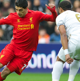 luis suarez, swansea
