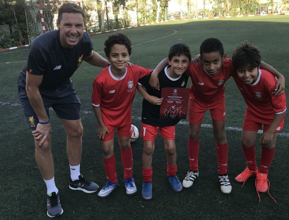 David Ridler at LFC IA Egypt