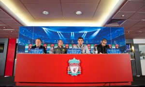 Konferensi pers pra ajang UCL, LFC vs. Ludogorets