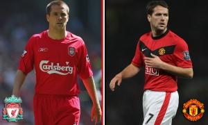 Sepuluh pemain yang pernah berkostum Liverpool dan United