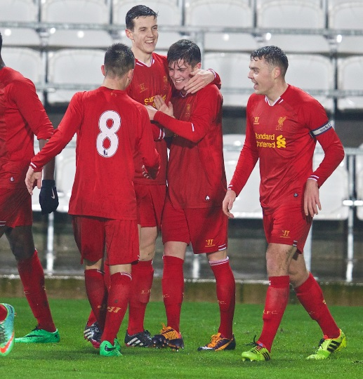King and boss watch Youth Cup