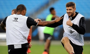 Reds get ready for Milan clash