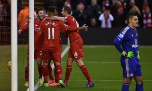 Liverpool 2-2 Sunderland