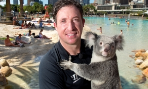 Robbie Fowler's whistle-stop tour of Brisbane