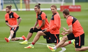 Sesi latihan Liverpool di Melwood