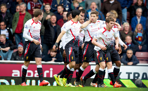 West Ham United 1 - 2 Liverpool FC Picture