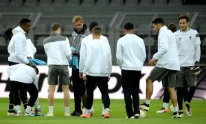 Persiapan LFC sebelum lawan Dortmund di Westfalenstadion