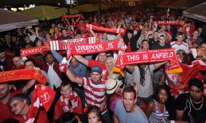 Charlotte comes out in force to see LFC legends