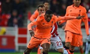 Galeri: Liverpool tiga kali jebol gawang Stoke