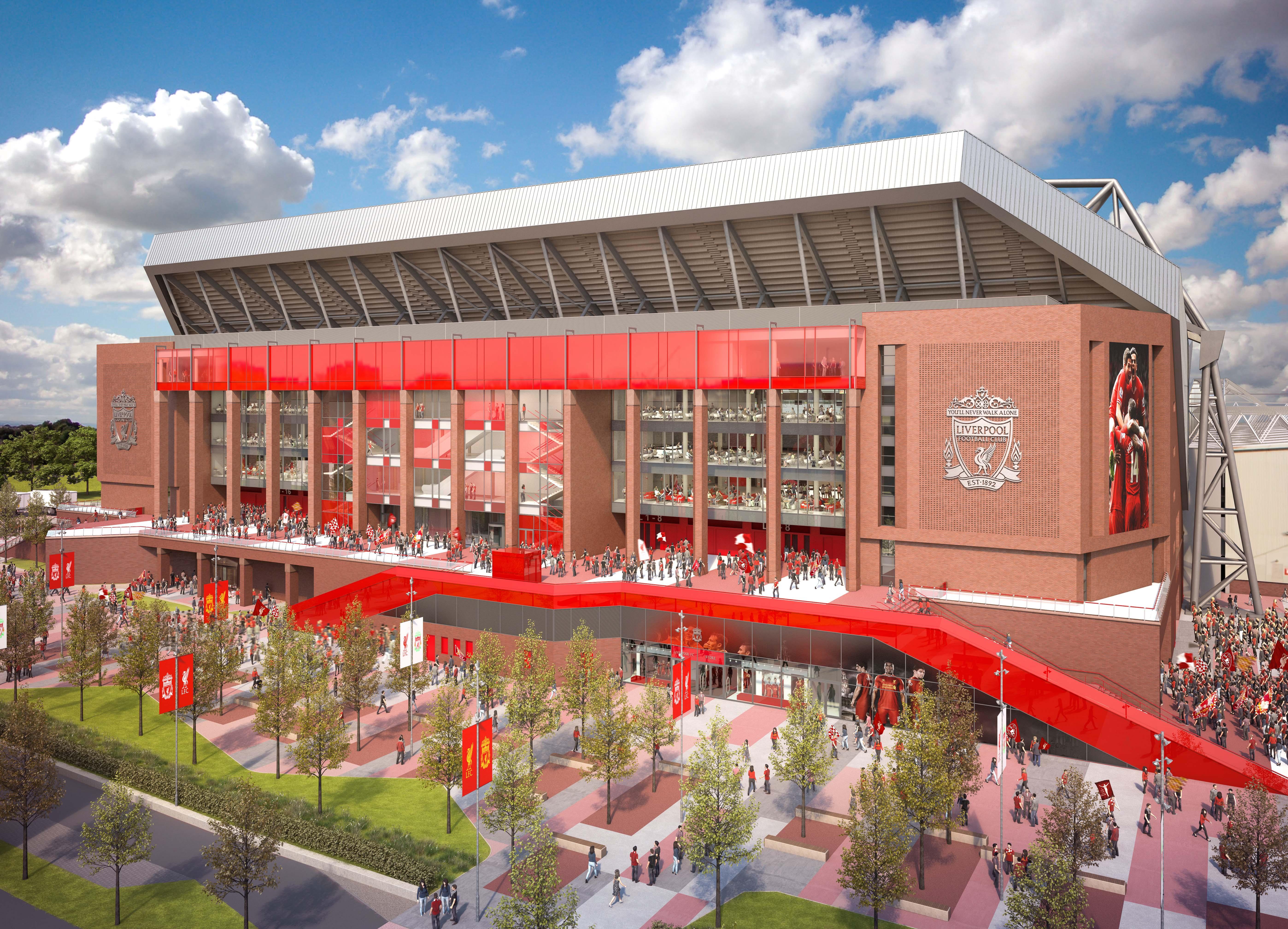 Ливерпуль представил планы по расширению стадиона -</p></div><br /><p class=