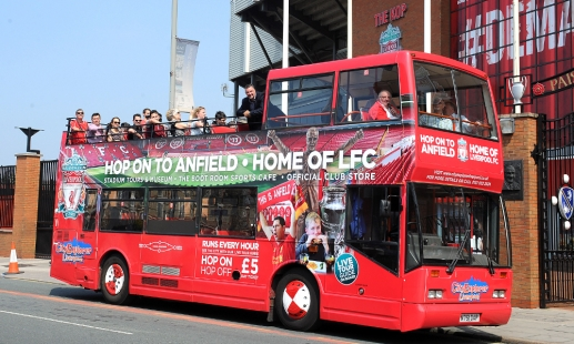 Reds launch open top bus service