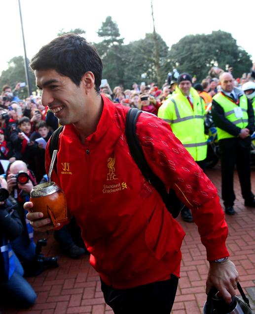 Luis Suarez And Steven Gerrard Reunited: FA CUP 2013/2014 : AFC Bournemouth 0 -2 Liverpool FC