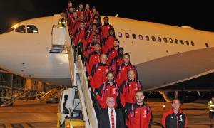 Liverpool arrive in Adelaide to continue tour