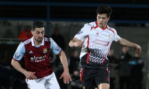 Pertandingan U21: West Ham 0-2 LFC