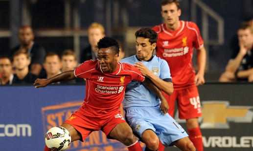 Video: Sterling dazzles in New York