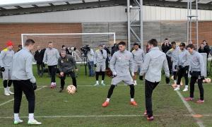 Persiapan jelang Europa League lawan Besiktas