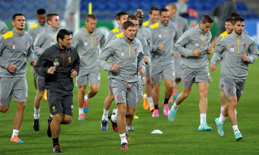 Video: Reds train for Basel test