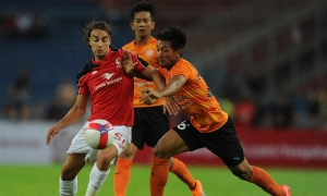 Reds beat Felda United in practice match