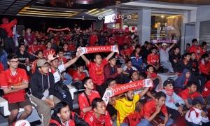 Fans: Nonbar West Ham vs. LFC di Tangerang