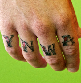 daniel agger, tattoo
