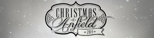Christmas at Anfield Banner 2014