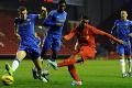 U18s 0-2 Chelsea: 11 mins