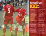 100, Goals, Owen, Baros, Wallpaper, 10