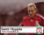 Sami Hyypia, wallpaper, centre back