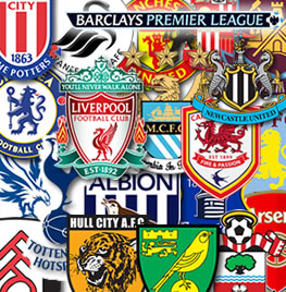 fixtures, premier league, crests