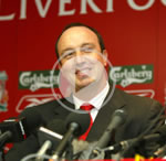 Rafael Benitez was appointed manager in July 2004, taking over from Gerard Houllier at Anfield.
