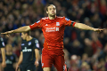 Carroll blasts home at the Kop