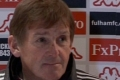 Kenny post-Fulham press conference