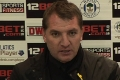 Rodgers post-Wigan press