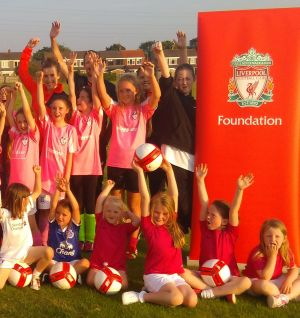 Liverpool Ladies Join Foundation Event