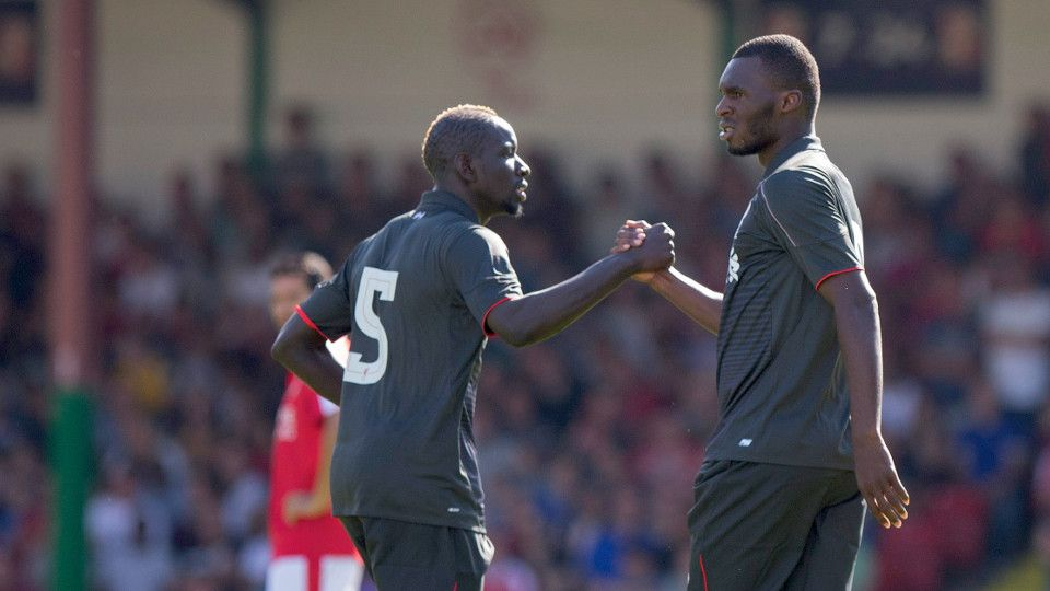Watch Benteke's goal from every angle