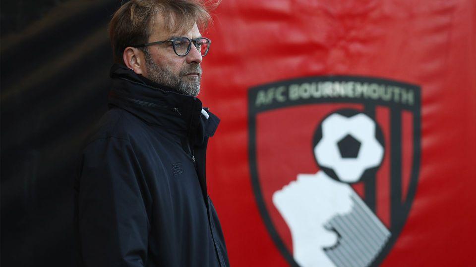 LIVE 1pm: Klopp's pre-Bournemouth press conference