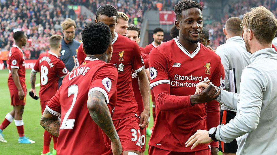 Reds' post-match lap of appreciation