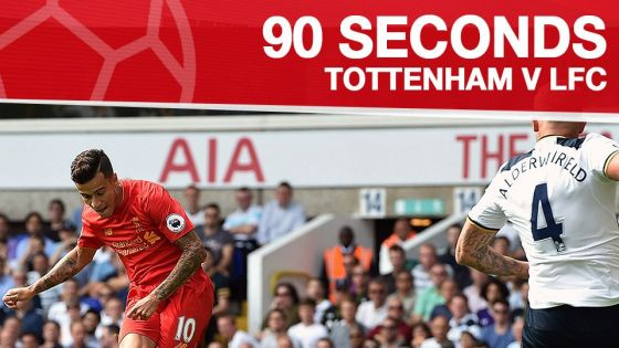 VIDEO: Cuplikan 90 detik Tottenham 1-1 Liverpool