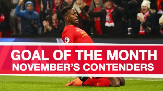 VIDEO: Kandidat gol terbaik LFC bulan November 2016