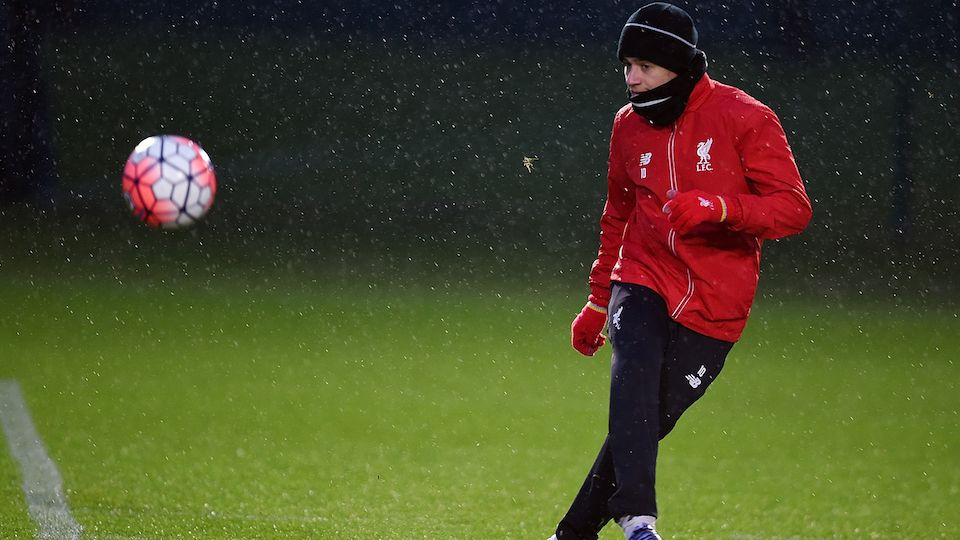 Training: Reds prepare for Hammers replay